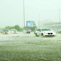"""""""الأرصاد"""" تحذر من جريان السيول و الأمطار تغرق شوارع القصيم.."""