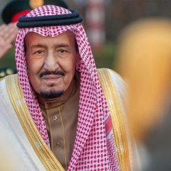 الملك سلمان يتسلم المفتاح الذهبي لمدينة تونس