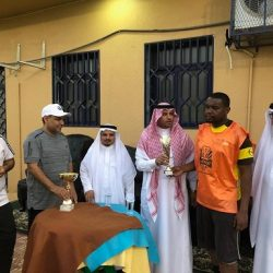 من جامعة أم القرى إبراهيم عبدالله محمد ينال درجة البكالوريوس