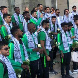 الرئيس الفلسطيني يستقبل بعثة الأخضر : زيارتكم تجسد العلاقة التاريخية بين بلدينا