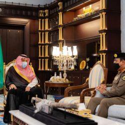 """أمير الباحة يستقبل منسوبي """"الرياضة"""" ورؤساء الأندية بالمنطقة"""