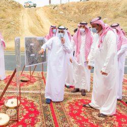 أمير منطقة الباحة يستقبل مدير الشرطة المكّلف حديثًا
