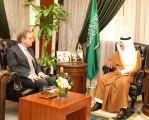 الأمير سعود بن نايف يستقبل السفير الهولندي لدى المملكة