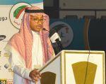 إفتتاح دورة الفقيد عبدالله الدبل واعلان الشعار وتوزيع الذهب