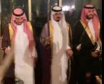 العميد محمد يحتفل بعقد قران ابنته على الشاب محمد ناصر