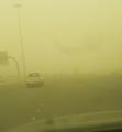 عاصفة رملية شديدة تضرب محافظة جدة والمستشفيات تعلن الطوارئ القصوى والطيران تعلق الرحلات الجوية