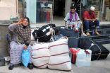 حجاج بيت الله يغادرون مكة بعد أدائهم طواف الوداع