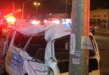 مصرع امرأة وإصابة 8 أخريات في حادث بالرياض