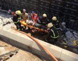 3 إصابات .. بحادث انهيار خزان أرضي في جدة
