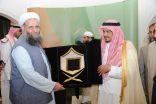 وزير الحج والعمرة يستقبل وزير الشؤون الدينية الباكستاني ووزير الأوقاف الأردني