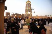 أول مئذنة في الإسلام تتمركز داخل بيت الجوف التراثية في الجنادرية33