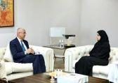 د. تماضر الرماح تبحث مع سفير أستراليا لدى المملكة تعزيز التعاون الثنائي في مجالات التنمية الاجتماعية