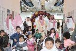 نائب أمير منطقة مكة يطٌلع على خدمات مركز الملك عبد الله بجدة