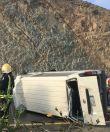 أربع وفيات وثمان إصابات ..  في حادث سير بوادي فيق بالباحة