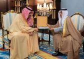 خلال استقبال الأمير حسام  له .. مدير المياه : عدادات إليكترونية وصرف صحي لـ 30 % بمنطقة الباحة