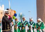 أربعة ألوان للفنون الشعبية تقدم في بيت القصيم بالجنادرية33