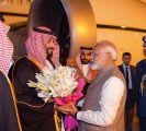 سمو ولي العهد يصل الهند في زيارة رسمية