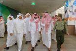 نائب أمير مكة يتفقد مجمع صالات الحج والعمرة بمطار الملك عبدالعزيز الدولي