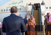 خادم الحرمين يصل إلى مصر في زيارة تتضمن ترأس وفد المملكة للقمة العربية الأوروبية