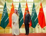 رئيس الصين يستقبل سمو ولي العهد في اجتماع استعرضا فيه تطورات الأوضاع بالمنطقة والمستجدات