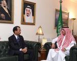 وزير الثقافة يستقبل السفير الياباني لدى المملكة
