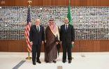 الأمير مشعل يشرف حفل افتتاح مقر القنصلية الأمريكية الجديد بجدة