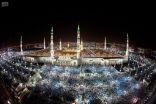 مآذن المسجد النبوي .. عمارة إسلامية تُشَنِّف المسامعَ بالآذان