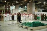 """أمير منطقة مكة يؤدي صلاة الميت على والدة الأمير بندر بن سلطان """" رحمها الله """""""