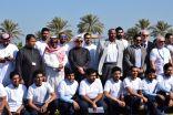 بلدية راس تنورة بالتعاون مع أرامكو السعودية ينظمان حملة نظافة بعنوان (تنظيف كورنيش المحافظة)