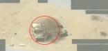 لحظة استهداف قوات التحالف تعزيزات حـوثية في صعدة باليمن