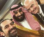 """الحريري يلتقط """"سيلفي"""" مع ولي العهد وبوتين ورئيس الفيفا في افتتاح كأس العالم"""