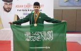 لاعب أخضر المبارزة حسين الطويل يتوج بذهبية الجولة الآسيوية