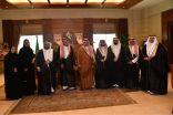 الأمير مشعل بن ماجد بن عبد العزيز محافظ جدة يلتقي رئيس وأعضاء لجنة المجتمع القانوني بمنطقة مكة المكرمة