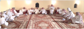 آل العسعوس .. يحتفون بابنهم م . فيصل وأصدقاء والدهم