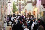 """130 ألف زائر لمهرجان جدة التاريخية """"أتاريك"""" خلال 3 أيام"""