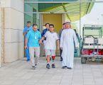 تركيب أول طرف صناعي لطفل تعرض لبتر في القدم