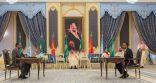 برعاية خادم الحرمين  .. رئيس دولة إريتريا ورئيس وزراء أثيوبيا يوقعان (اتفاقية جدة للسلام) .. ويقلدهما قلادة الملك عبدالعزيز
