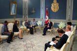 رئيس الجمهورية التونسية يستقبل رئيس اللجنة الكشفية العالمية