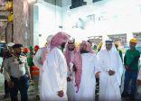 السديس يوجه بالانتهاء من الصيانة وفتح باب الملك عبدالعزيز استعدادا لرمضان