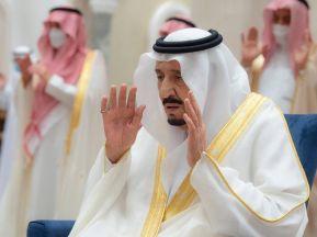 صور من صلاة العيد .. خادم الحرمين . وولي العهد . وأمير مكة