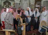 تحديث سجاد مسجد العباس بالطائف بنوعية فاخرة