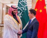 """ولي العهد يجتمع مع """"هان تشنغ"""" ويستعرضان العلاقات السعودية الصينية"""