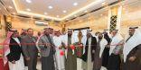 مدير جامعة الباحة المكلف يفتتح قاعات التدريب بإدارة التطوير الإداري