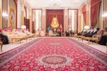 خالد بن أحمد: زيارة ولي العهد تجسيد عميق لخصوصية العلاقة بين السعودية والبحرين