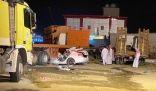 ثلاث إصابات خطيرة .. في حادث سير بالمخواة