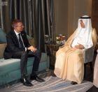 وزير الخارجية يبحث تعزيز العلاقات مع نظيره بجمهورية لاتفيا