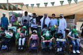 مركز الملك عبد الله بجدة يحتفل بذكرى البيعة الـ 4 للملك سلمان