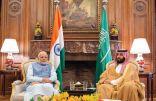 ولي العهد يلتقي رئيس وزراء الهند