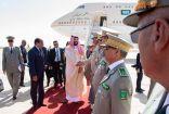 ولي العهد يصل الجمهورية الإسلامية الموريتانية