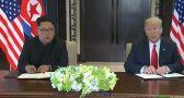 بالفيديو.. زعيم كوريا الشمالية يطلب شيئا غريبا أثناء القمة التاريخية بسنغافورة